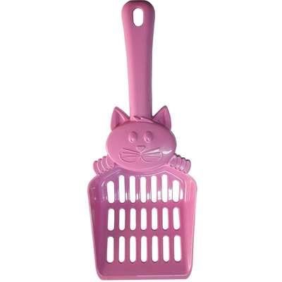 Pá Higiênica Mr Pet com Figura para Gatos - Rosa
