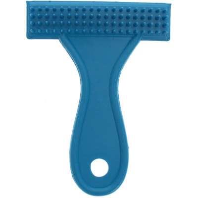 Escova Plástico Rastelo Baixa - Azul