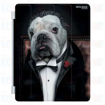 Capa Plast Dog Father Pets Rock para iPad