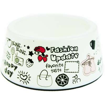 Comedouro American Pets Funny - Branco