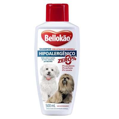 Shampoo Bellokão Hipoalergênico - 500 mL