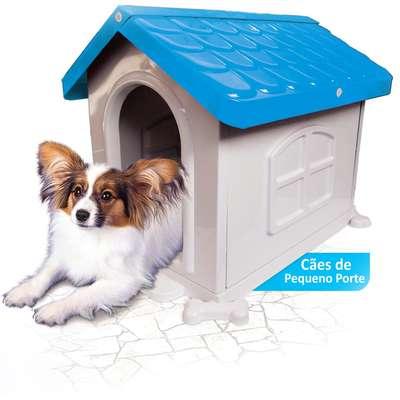 Casa Pet Injet Plástica - Azul